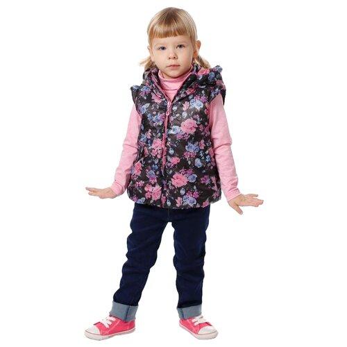 Жилет V-Baby 56-052 размер 98, мультицветКуртки и пуховики<br>