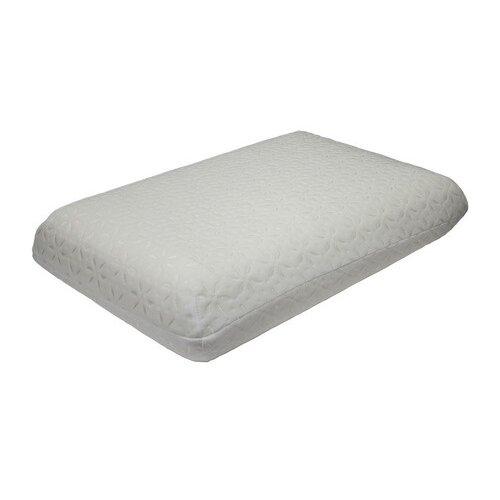 Подушка EcoSapiens Ortosleep с эффектом памяти 60 х 40 см белыйПодушки<br>