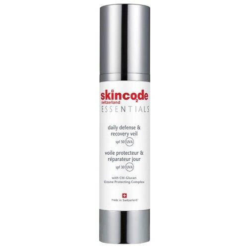 Skincode Essentials Дневной защитный и восстанавливающий крем для лица SPF 30, 50 мл мицеллярная вода 200 мл skincode essentials