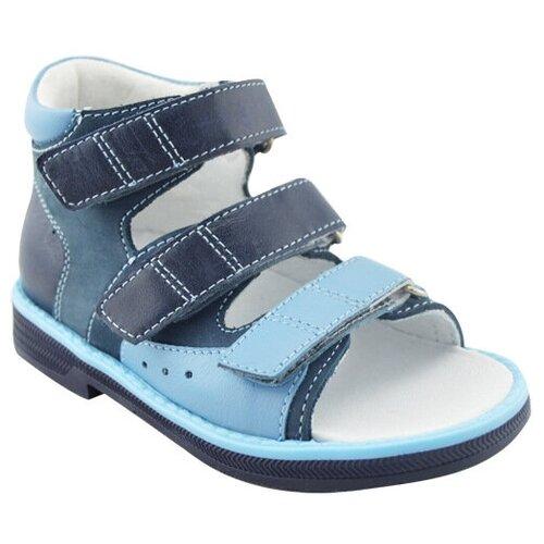 Сандалии Orthoboom размер 29, синий/голубойСандалии<br>