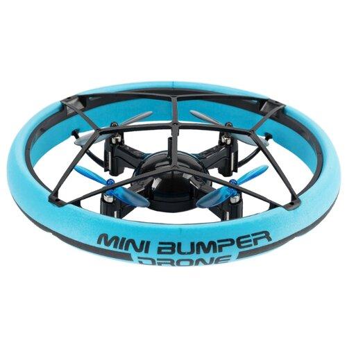 Квадрокоптер Silverlit Bumper Drone Mini голубой jjrc h21 six axis drone remote control aerial vehicle drone