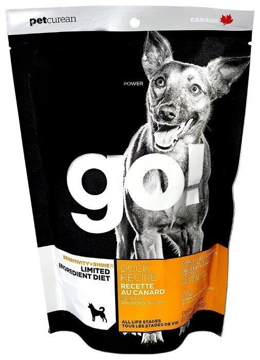 Корм для собак GO! Sensitivity + Shine Limited Ingredient Diet утка 230г