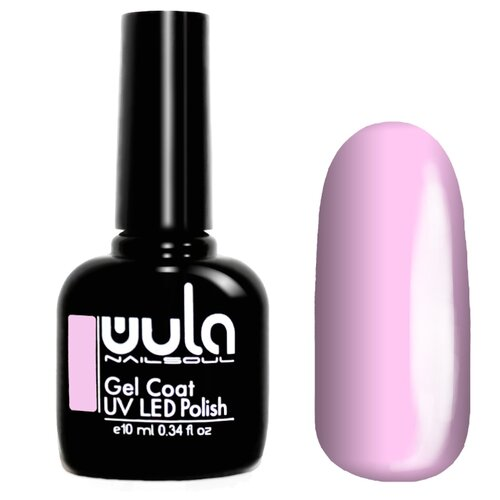 Гель-лак для ногтей WULA Gel Coat, 10 мл, оттенок 314 светло-розовый гель лак all star city collection 10 мл оттенок светло розовый 007 murrieta