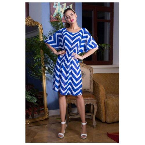 Пляжная туника Mia-Mia Carlin размер XXXL(54) синий/белый сорочка mia mia размер xxxl 54 белый голубой
