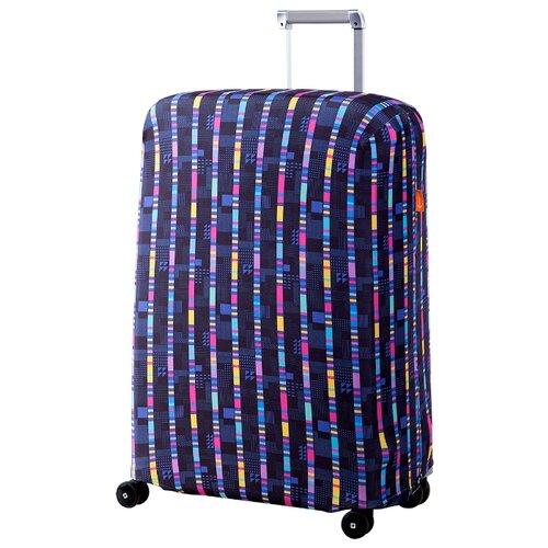 Чехол для чемодана ROUTEMARK «Стробоскоп» ART.LEBEDEV SP240 L/XL, синий цитрус спрей 31 век el sp240