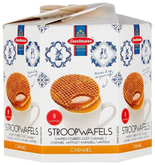 Вафли Daelmans Stroopwafels бисквитные с карамельной начинкой 230 г