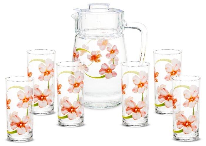 Набор Luminarc Sweet Impression кувшин + стаканы 7 предметов