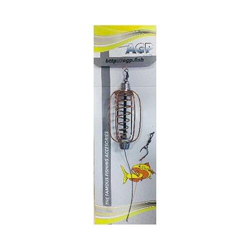 Кормушка для прикормки AGP Убойный карпятник 40 гПрикормки<br>