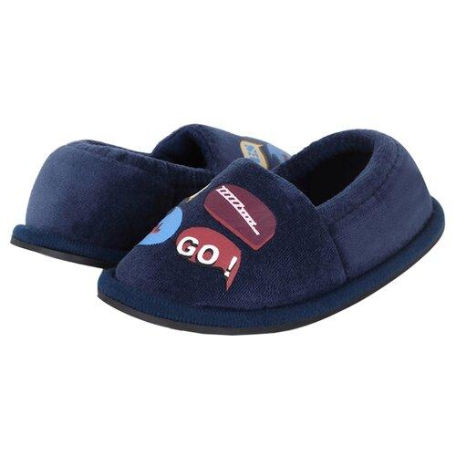 Тапочки Biker размер 26, темно-синийДомашняя обувь<br>