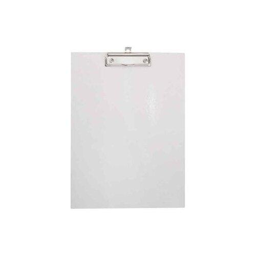 Купить Index Папка-планшет с зажимом без крышки А4, картон белый, Файлы и папки