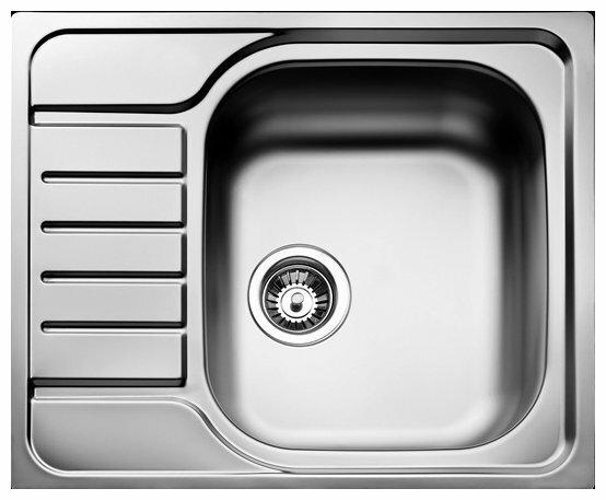 Врезная кухонная мойка TEKA Universal 1B 1/2D 58х50см нержавеющая сталь