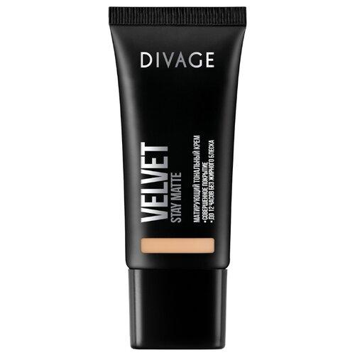 DIVAGE Тональный крем Velvet, 30 мл, оттенок: 02 divage velvet тональный крем тон 06 30 мл