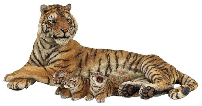 Фигурки Papo Тигрица с тигрятами 50156