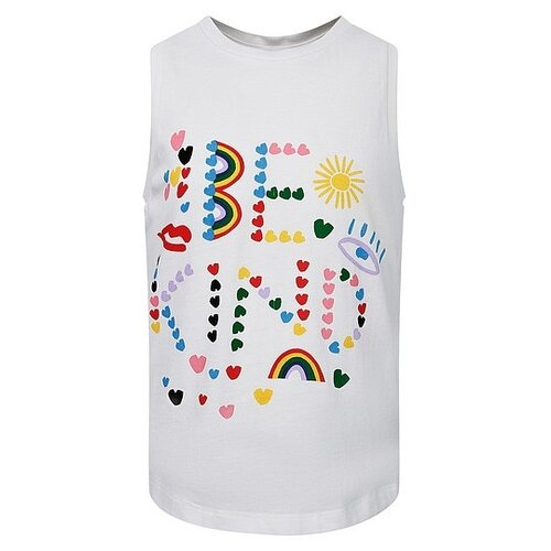 Футболка Stella McCartney размер 92, кремовый блузка stella mccartney размер 140 кремовый