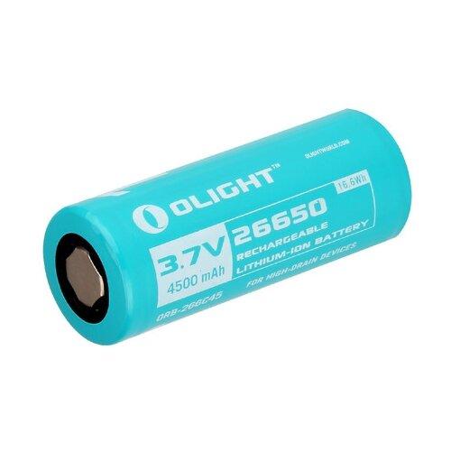 Аккумулятор Li-Ion 4500 мА·ч Olight 26650 ORB-266C45 1 шт картон