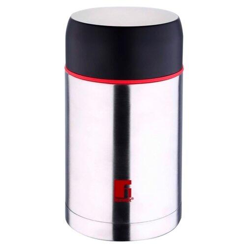 Термос для еды Bergner Travel с широким горлом (0,5 л) серебристый кофеварка bergner bg 0673 eu