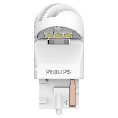 Лампа автомобильная светодиодная Philips 11065XUWX2 W21W 12/24V 1,7W 2 шт. philips светодиодная лампа 4 режима света