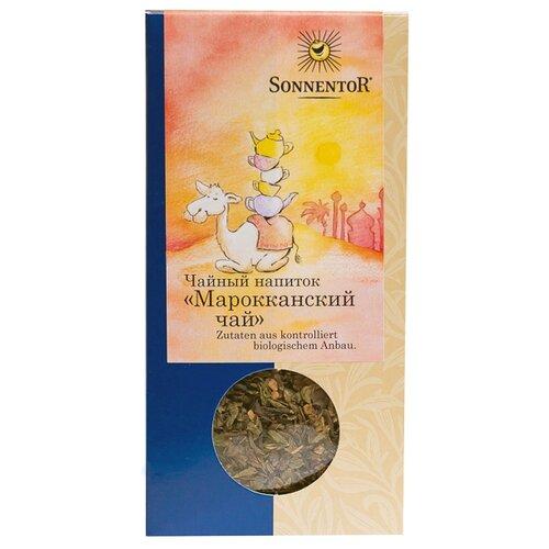 Чай черный Sonnentor Марокканский, 60 г чай черный sonnentor с чабрецом 90 г