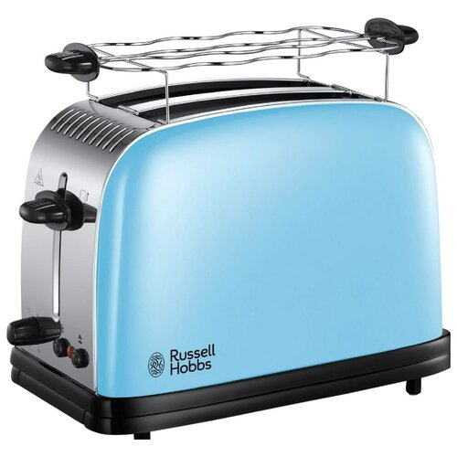 Тостер Russell Hobbs 23335-56 Colours Plus, голубой тостер russell hobbs 21395 56