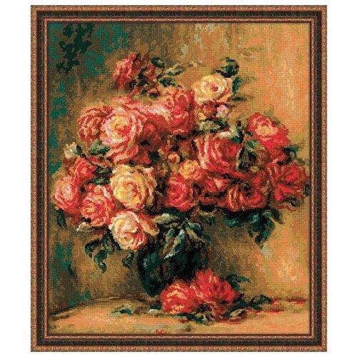 Купить Риолис Набор для вышивания крестом Букет роз 40 x 48 (1402), Наборы для вышивания