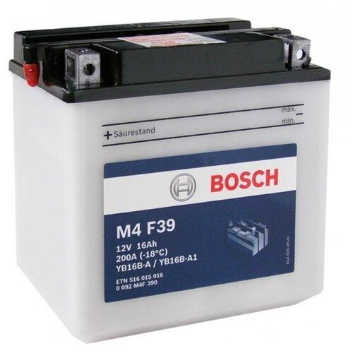 Мото аккумулятор Bosch M4 F39 (0 092 M4F 390)