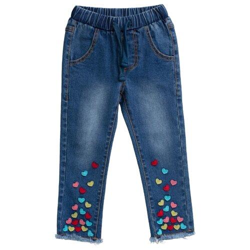 Купить Брюки playToday размер 74, синий, Брюки и шорты
