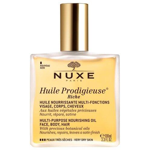 Масло для тела Nuxe Сухое обогащенное Huile Prodigieuse Riche, 100 мл сухое масло nuxe prodigieuse