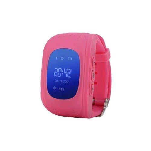 Часы Smart Baby Watch Q50 + подписка на приложение Где мои дети розовый умные часы smart baby watch q50 розовые