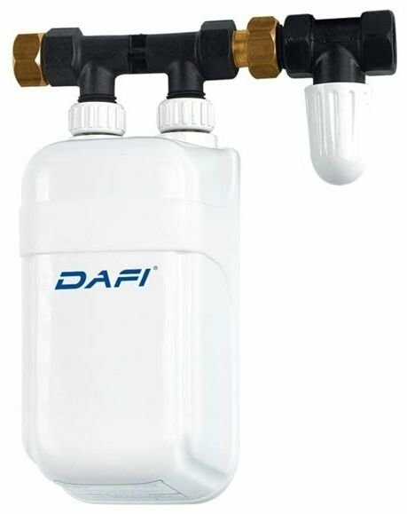 Проточный электрический водонагреватель DAFI X4 7.5/400