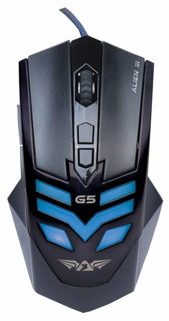 Мышь Armaggeddon Alien III G5 Black USB