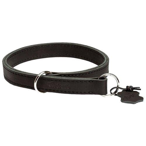 Ошейник-удавка Gripalle Купер 25-45S, 45 см черный