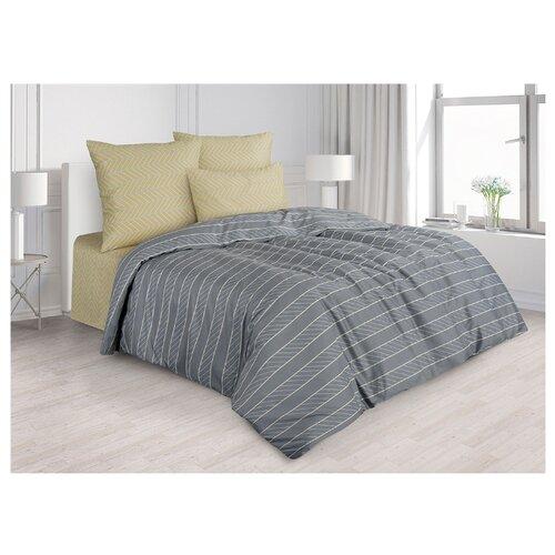 цена Постельное белье 2-спальное макси La Noche del Amor 543/2 сатин серый/зеленый онлайн в 2017 году