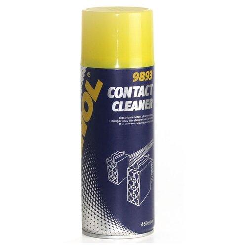 Очиститель электропроводки Mannol Contact Cleaner 0.45 л баллончик mannol очиститель салона и кузова автомобиля mannol 9972 universal cleaner 0 5 л