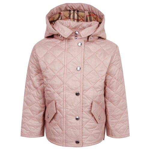 Куртка Burberry размер 68, розовый куртка burberry
