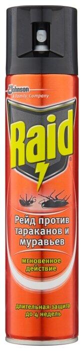 Аэрозоль против тараканов и муравьев