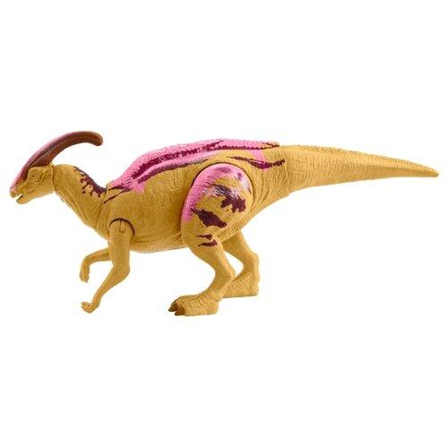 Купить Фигурка Mattel Jurassic World Боевой удар Паразауролоф GMC96, Игровые наборы и фигурки