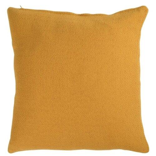 Подушка декоративная TKANO Essential 45х45 см шафран