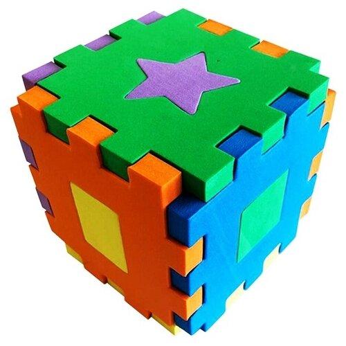 Купить Сортер Malamalama Кубик Первые знания, Сортеры