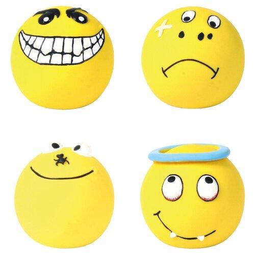 Игрушка для собак TRIXIE Smileys (35266) желтый