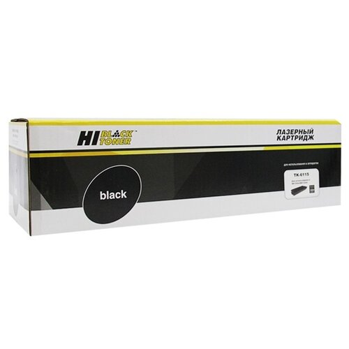 Фото - Картридж Hi-Black HB-TK-6115, совместимый hi black tk 6115 картридж для kyocera ecosys m4125idn m4132idn 15k