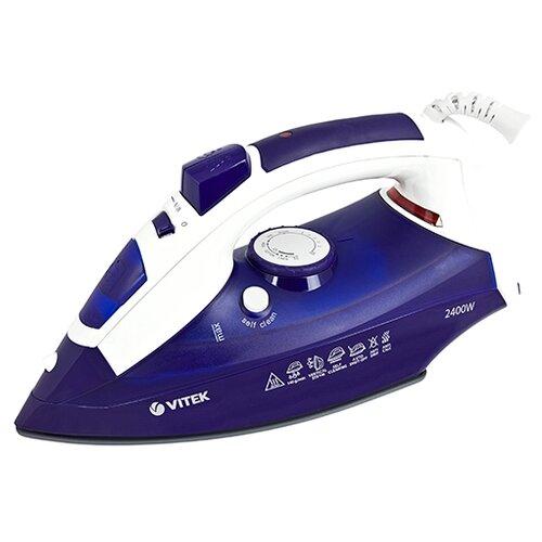 Утюг VITEK VT-1245 DB, P+Gft синий/белый