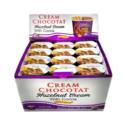 Dogtat Cream Chocotat Набор из хлебных палочек и ореховой пасты 24 шт.