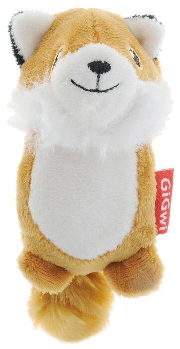 Игрушка для собак GiGwi Dog Toys Лисичка без набивки (75014)