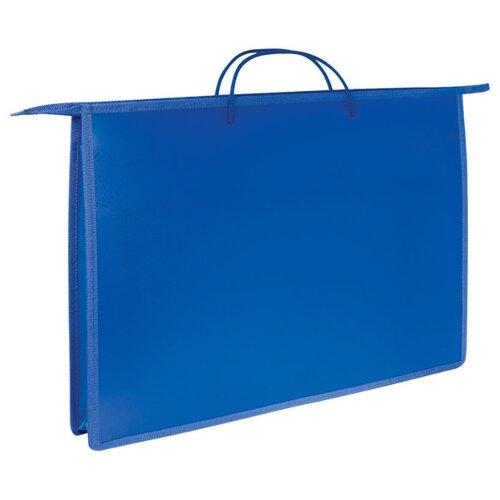 Купить ArtSpace Папка для чертежей и рисунков А3, пластиковая на молнии синий, Файлы и папки