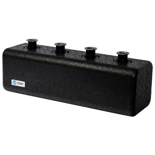Коллектор проходной нерегулируемый STOUT (SDG-0018-004002) 2 контура с гидравлическим разделителем DN 25 алкотестер blast bat 250 30043