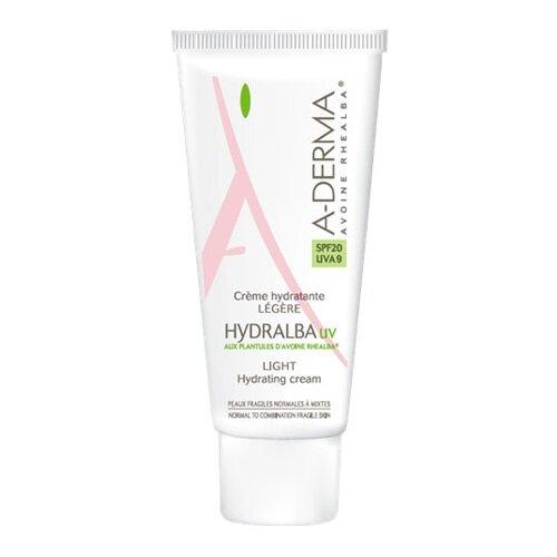 A-Derma Hydralba UV Легкий увлажняющий крем для лица, 40 мл a derma крем hydralba uv насыщенный увлажняющий 40 мл
