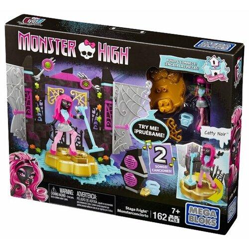Конструктор Mega Bloks Monster High DPK32 Пугающая эстрада цена 2017