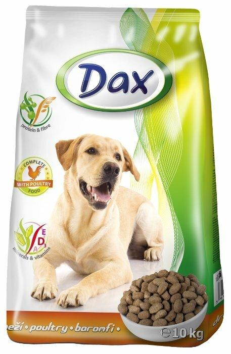 Корм для собак DAX Птица для собак сухой (10 кг)