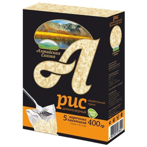 алтайская сказка смесь круп гречка рис в пакетах для варки 400 г 5х80 г Рис Алтайская сказка длиннозерный обработанный паром 400 г