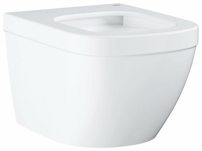 Чаша унитаза подвесная Grohe Euro Ceramic 39206000 с горизонтальным выпуском